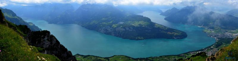Lac des 4 cantons depuis Fronalpstock 16.07.2017